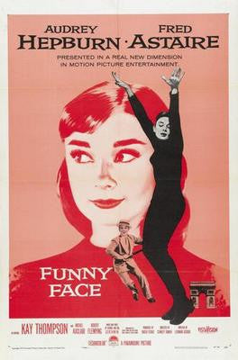 Funny Face Audrey Hepburn Movie Poster 24x36 - Fame Collectibles