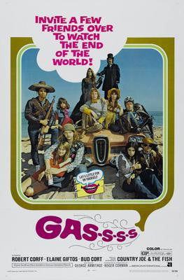 Gas Movie Poster 24x36 - Fame Collectibles