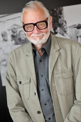 George Romero Gray Jacket Poster 24x36 - Fame Collectibles