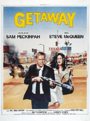 Getaway Movie Poster 24in x 36in - Fame Collectibles
