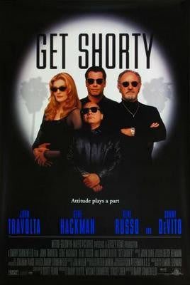 Get Shorty Movie Poster 24x36 - Fame Collectibles