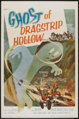 Ghost Of Dragstrip Hollow Movie Poster 24in x 36in - Fame Collectibles