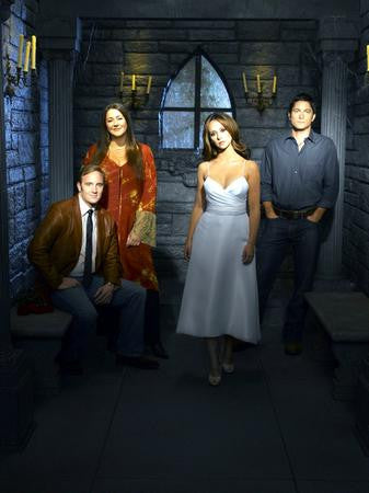 Ghost Whisperer Cast Poster dark room 24x36 - Fame Collectibles