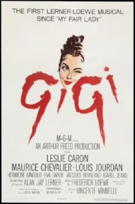 Gigi Movie Poster 24in x 36in - Fame Collectibles