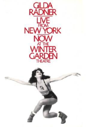Gilda Radner Live From New York Movie Poster 24in x 36in - Fame Collectibles