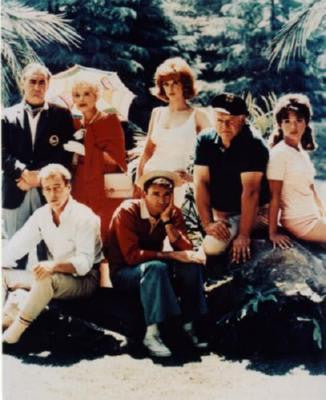 Gilligans Island Cast Poster 24in x 36in - Fame Collectibles