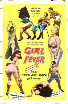 Girl Fever Movie Poster 24x36 - Fame Collectibles