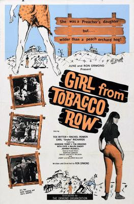 Girl From Tobacco Row Movie Poster 24x36 - Fame Collectibles