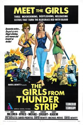 Girls From Thunder Strip The Movie Poster 24x36 - Fame Collectibles