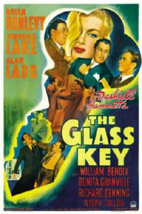 Glass Key The Movie Poster 24in x 36in - Fame Collectibles