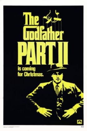 Godfather Part 2 Movie Poster 24in x 36in - Fame Collectibles