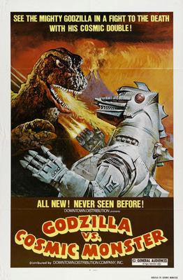 Godzilla Vs Cosmic Monster Movie Poster 24x36 - Fame Collectibles