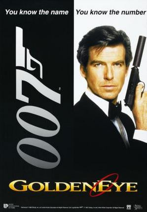 Goldeneye Movie Poster James Bond 24x36 - Fame Collectibles