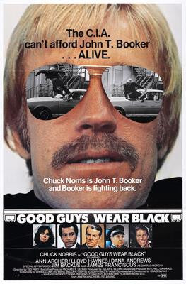 Good Guys Wear Black Movie Poster 24x36 - Fame Collectibles