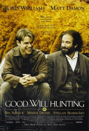 Good Will Hunting Movie Poster 24x36 - Fame Collectibles