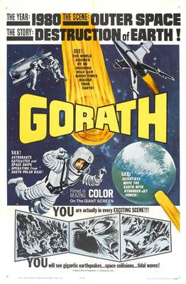 Gorath Movie Poster 24x36 - Fame Collectibles