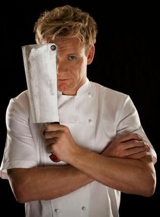 Gordon Ramsay Cleaver 8x10 photo - Fame Collectibles