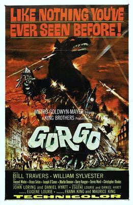 Gorgo Movie Poster 24x36 - Fame Collectibles
