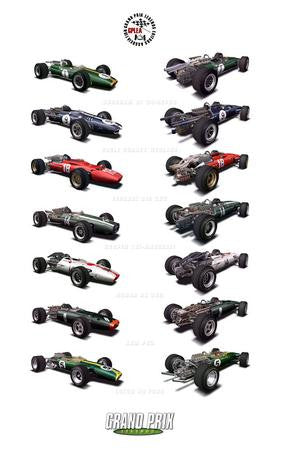 Grand Prix Legends Poster 24x36 - Fame Collectibles