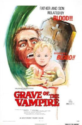 Grave Of The Vampire Movie Poster 24in x 36in - Fame Collectibles