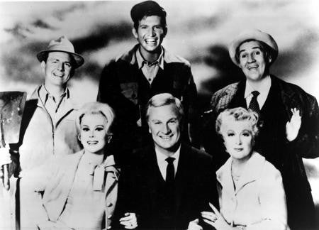 Green Acres Poster BW photo 24x36 - Fame Collectibles