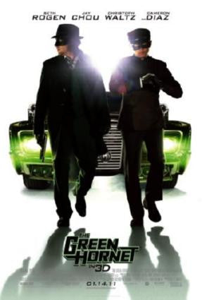 Green Hornet The Movie Poster 24in x 36in - Fame Collectibles