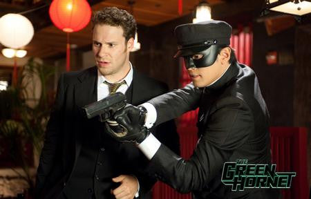 Green Hornet Poster Seth ROGEN 24x36 - Fame Collectibles