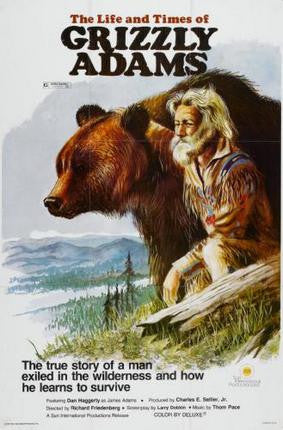 Grizzly Adams Poster 24x36 - Fame Collectibles