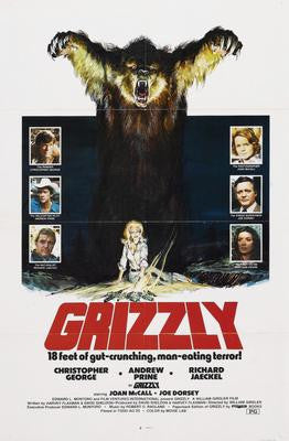 Grizzly Movie Poster 24x36 - Fame Collectibles