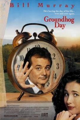 Groundhog Day Movie Poster 24x36 - Fame Collectibles