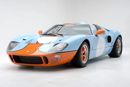 Gt40 Poster 24x36 - Fame Collectibles