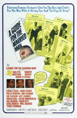 Guide For The Married Man Movie Poster 24in x 36in - Fame Collectibles