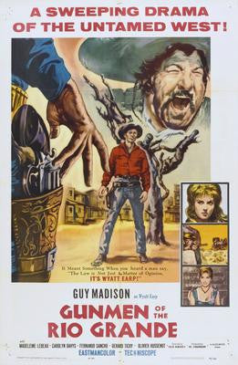 Gunmen Of The Rio Grande Movie Poster 24x36 - Fame Collectibles