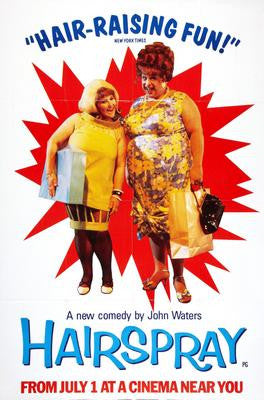 Hairspray Movie Poster 24x36 - Fame Collectibles