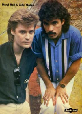 Hall And Oates Poster 24in x 36in - Fame Collectibles