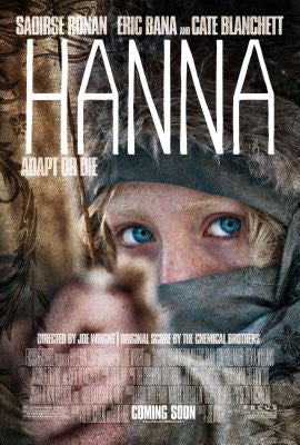 Hanna Movie Poster 24x36 - Fame Collectibles