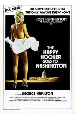 Happy Hooker Goes To Washington The Movie Poster 24x36 - Fame Collectibles