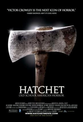 Hatchet Movie Poster 24x36 - Fame Collectibles