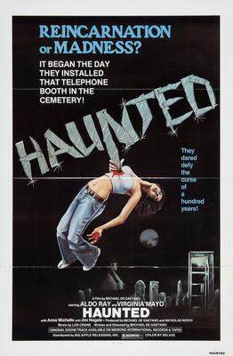 Haunted Movie Poster 24x36 - Fame Collectibles