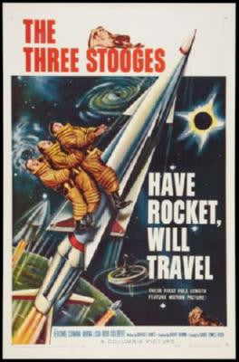 Have Rocket Will Travel Movie Poster 24in x 36in - Fame Collectibles