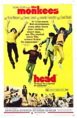 Head Poster #02 The Monkees 24inx36in - Fame Collectibles