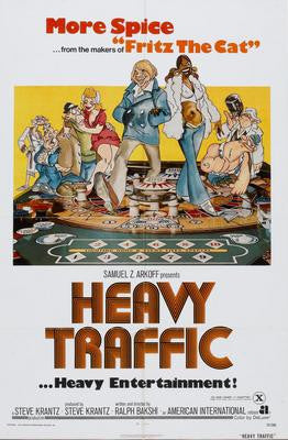 Heavy Traffic Movie Poster 24x36 - Fame Collectibles