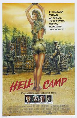 Hell Camp Movie Poster 24x36 - Fame Collectibles