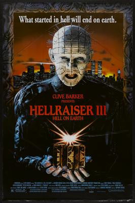 Hellraiser Movie Poster 24x36 - Fame Collectibles