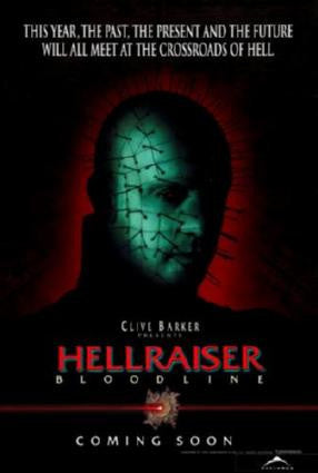 Hellraiser Bloodline 4 Movie Poster 24in x 36in - Fame Collectibles