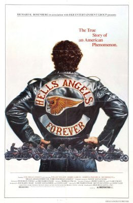 Hells Angels Forever Movie Poster 24x36 - Fame Collectibles