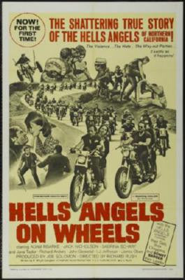 Hells Angels On Wheels Movie Poster 24in x 36in - Fame Collectibles