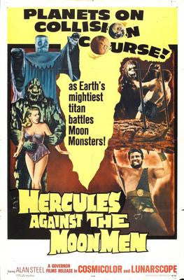 Hercules Against The Moon Men Movie Poster 24x36 - Fame Collectibles