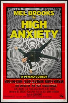 High Anxiety Poster 24inx36in - Fame Collectibles