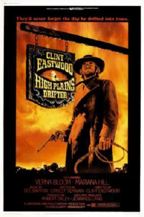 High Plains Drifter Movie Poster 24in x 36in - Fame Collectibles